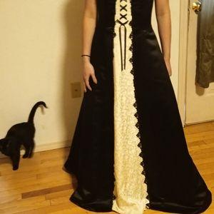 Scott Mcclintock floor length formal dress